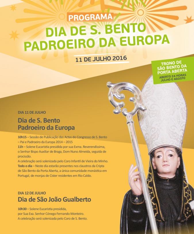 romaria s. bento 11 julho