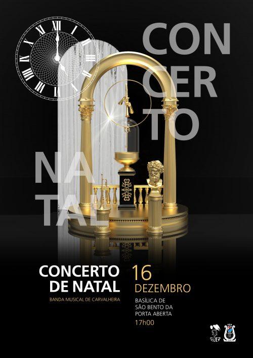 Cartaz A3 - web RGB - Concerto de Natal Basílica de S. Bento´18