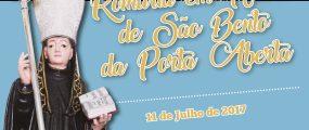 Cartaz Romaria São Bento da Porta Aberta 2017